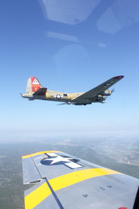 N93012 - Collings Foundation P-51C flight from Austin to Fort Worth - Thanks Jim!