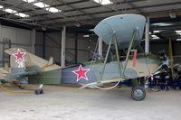 N588NB @ EGTH - 1944 Polikarpov Po-2, c/n: 0094 at Old Warden