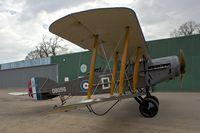 G-AEPH @ EGTH - G-AEPH (D8096), 1918 Bristol F2B Fighter, c/n: 7575  at Old Warden