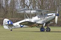 G-AENP @ EGTH - G-AENP (K5414 / XV), 1935 Hawker Hind, c/n: 41H/81902