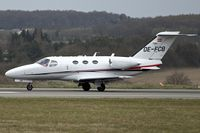 OE-FCB @ EGGW - Cessna 510, c/n: 510-0044 at Luton - by Terry Fletcher