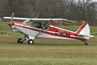 G-MGMM @ EGTH - 1979 Piper PA-18-150, c/n: 18-7909189 at Old Warden