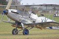 G-AENP @ EGTH - G-AENP (K5414 / XV), 1935 Hawker Hind, c/n: 41H/81902 at Old Warden