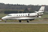 CS-DNY @ EGGW - Cessna 560XL Citation Excel, c/n: 560-5216 at Luton - by Terry Fletcher