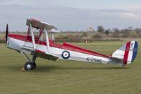 G-ANKT @ EGTH - 1942 De Havilland DH-82A, c/n: 85087 at Old Warden