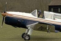 G-BBMT @ EGTH - G-BBMT (WP831), 1951 De Havilland DHC-1 Chipmunk 22, c/n: C1/0712 at Old Warden