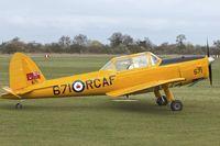 G-BNZC @ EGTH - G-BNZC (RCAF 671), 1952 De Havilland DHC-1 Chipmunk 22, c/n: C1/0778 at Old Warden
