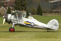G-AMRK @ EGTH - 1937 Gloster Gladiator I, c/n: L8032 at Old Warden