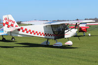 G-UPHI @ X3CX - Parked at Northrepps. - by Graham Reeve
