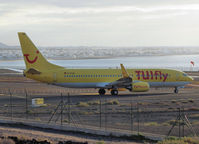 D-ATUB @ GCRR - Taxi to the runway of Lanzarote Airport - by Willem Göebel