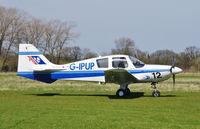 G-IPUP @ EGSV - Just landed. - by Graham Reeve