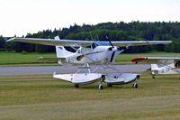 SE-KPR @ ESKB - Cessna TU.206D Turbo Super Skywagon [U206-1287] Stockholm-Barkarby~SE 07/06/2008