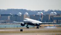 N767UW @ KDCA - Landing DCA - by Ronald Barker