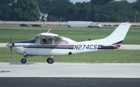 N274CS @ ORL - Cessna 210L