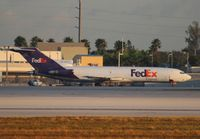 N277FE @ MIA - Fed Ex 727 hasn't moved for a couple years