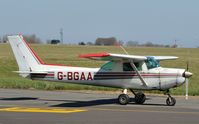 G-BGAA @ EGSH - Leaving in strong sunlight. - by keithnewsome