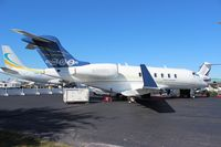 N305CL @ ORL - Challenger 300 at NBAA