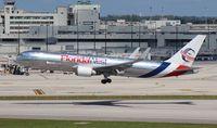 N316LA @ MIA - Florida West 767