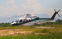 PR-LCK @ SBME - Lider S76 parked at the end of the apron in Macae, RJ - by FerryPNL