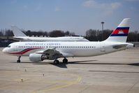 KOC001 @ PEK - Kingdom of Cambodia A320-214. Assembled in Tianjin. - by Bas Velders