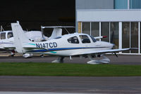 N147CD @ EGBJ - Cirrus147 flying group - by Chris Hall