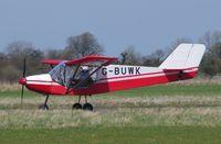 G-BUWK @ EGSV - Just landed. - by Graham Reeve