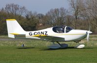 G-CGNZ @ EGSV - Just landed. - by Graham Reeve