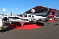 N321WV @ ORL - Beech G58 at NBAA