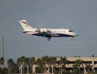N335FX @ MIA - Challenger 604 - by Florida Metal