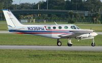 N335PW @ ORL - Cessna 335