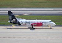 N343AG @ TPA - Silver Saab 340