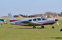 N132LE @ EGSV - Parked at Old Buckenham. - by Graham Reeve