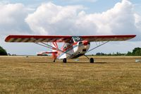 OY-LEN @ EKVJ - Bellanca 7GCAA Sky-Trac [346-77] Stauning~OY 14/06/2008. Destroyed in a hangar fire at Hoganas~OY 2012-05-09.