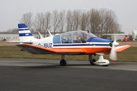 G-JBUZ @ EGBR - Robin DR-400-180R Remorqueur at The Real Aeroplane Club's Spring Fly-In, Breighton Airfield, April 2013. - by Malcolm Clarke