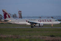 A7-AHW @ LIRF - Taxiing