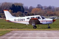 G-CDMY @ EGKA - Piper PA-28-161 Warrior II [28-7916007] Shoreham~G 10/04/2007