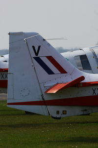 G-GGRR @ EGBP - wearing its former Northumbrian UAS markings - by Chris Hall