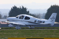 M-SMKM @ EGBP - Privately owned - by Chris Hall