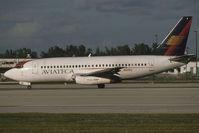 N121GU @ KMIA - Aviateca 737-200 - by Andy Graf - VAP