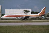 N6161M @ KMIA - Kalitta Air DC-8-55 - by Andy Graf - VAP