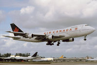 C-GAGB @ KMIA - Air Canada 747-200 - by Andy Graf - VAP