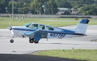 N377RF @ ORL - Beech F33 Bonanza
