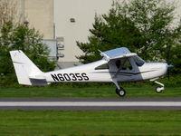 N6035S @ KRNT - landing rwy16 - by Franz L