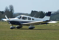 G-BPIU @ EGBP - visitor from Fairoaks - by Chris Hall
