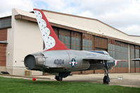 54-0104 @ TIP - Chanute Air Museum. This aircraft was never a Thunderbird. - by Glenn E. Chatfield