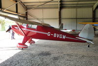 G-BVGW @ X3YF - at Yeatsall Farm, Abbots Bromley - by Chris Hall