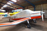 G-BRVZ @ X3YF - at Yeatsall Farm, Abbots Bromley - by Chris Hall