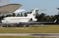 N400RG @ OPF - Private 727-100 awaiting its fate at Opa Locka - by Florida Metal