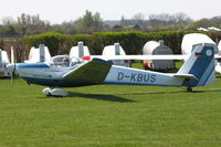 D-KBUS @ EDLK - Aero Club Bayer Uerdingen e.v. - by Air-Micha