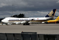 9V-SFM @ ESSA - Parked at stand R7. - by Anders Nilsson